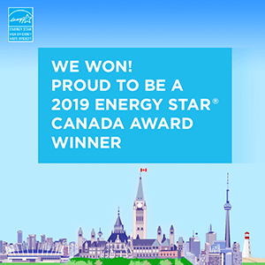 We Won! 2019 Energy star canada winner